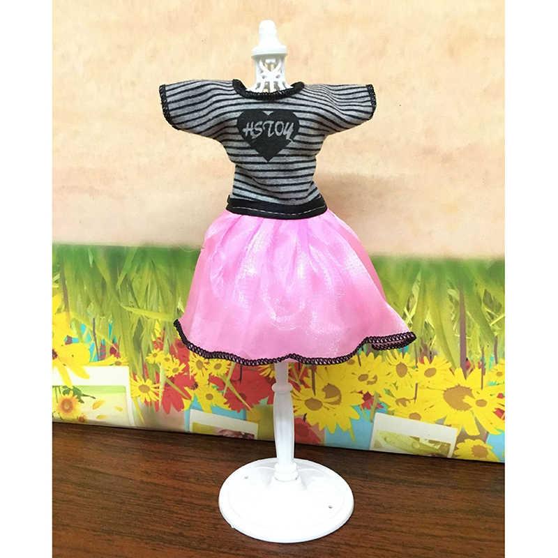 Mädchen Fantasie Puppe Display Halter Kleid Kleidung Kleid Schaufensterpuppe Hohl Modell kleiderbügel Stand Rack Halter für Puppen