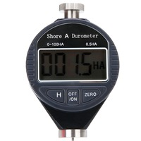 1pc 0 100HA Digital Durometer LCD Display Shore A Hardness Tester Tire For Plastic Rubber Test Tool
