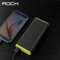 ROCK Original Power Bank 10000mAh For Apple Smartphone Universal Charger Portable Charging External Battery Fireproof H12