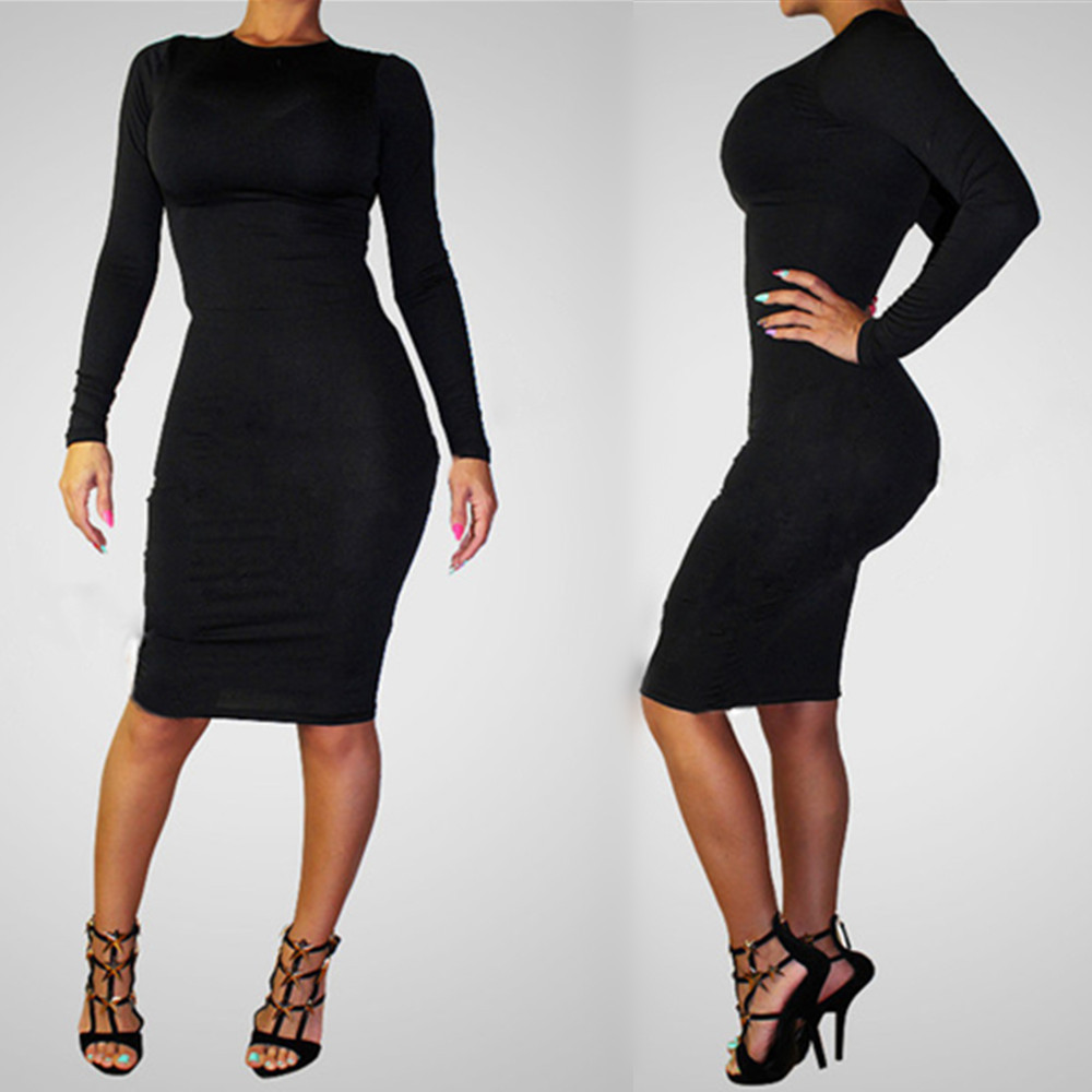 2014 New Exquisite Bandage Dresses Women Vestidos Sexy Club Black Party Dress Novelty Special Occasion Birthday Dress Wholesale Dresses Europe Dress Summerdresses Dress Aliexpress