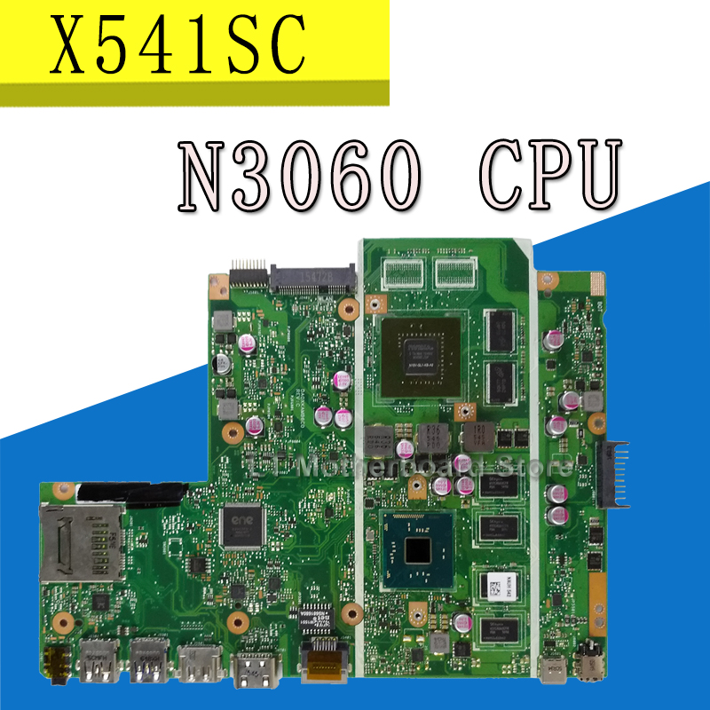 X541SC motherboard MB._4G/N3060/AS V1G For Asus X541S X541SC Laptop motherboard X541SC Mainboard X541SC motherboard