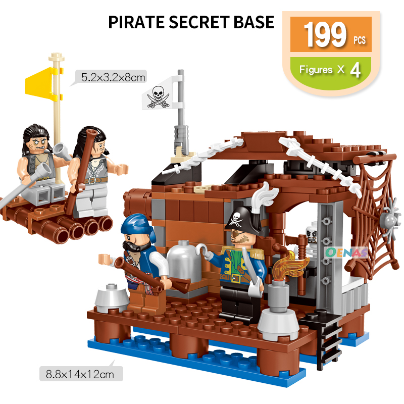 Toys & Hobbies Model Building Responsible 20901-20904 Pirates Black Pearl Ghost Ship Building Blocks Bricks Toy