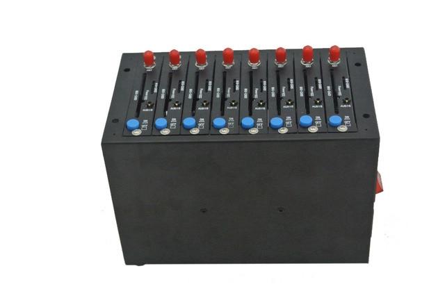 3G Wireless WCDMA GPRS 8 Ports Modem Pool With Wavecom SL808X   USB