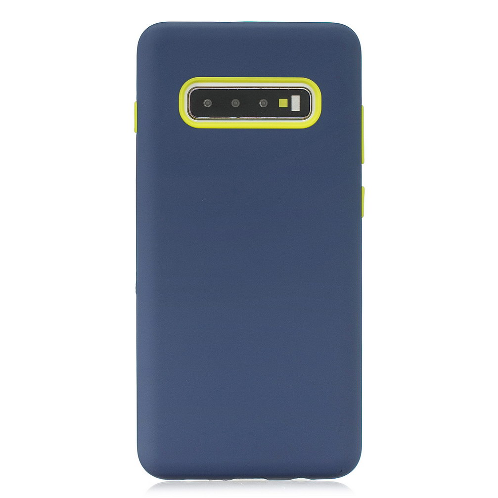 3 In 1 Rubber Hybrid Defend Case For Samsung Galaxy S10 S9 Full Coverage Shockproof Cover For Galaxy S10 Plus S10E Note 9 Note8