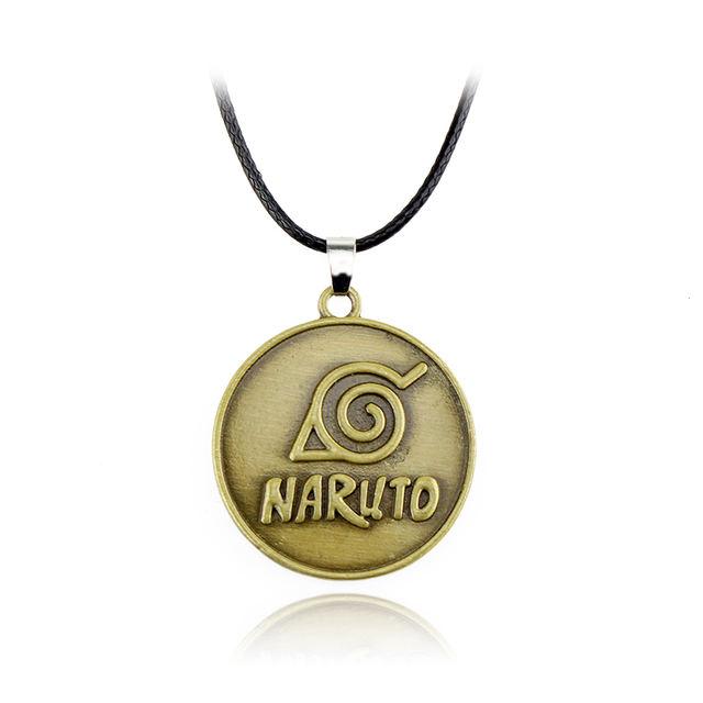 "Naruto ""Konoha"" Round Necklace"
