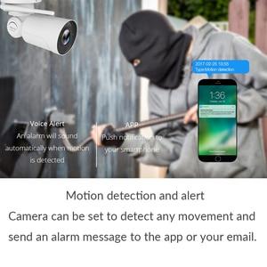 Image 2 - 1080P 2MP PTZ IP Camera WiFi Bullet Outdoor Wireless WiFi Waterproof Camera CCTV Security Surveillance 4X Optical Zoom IP Camara