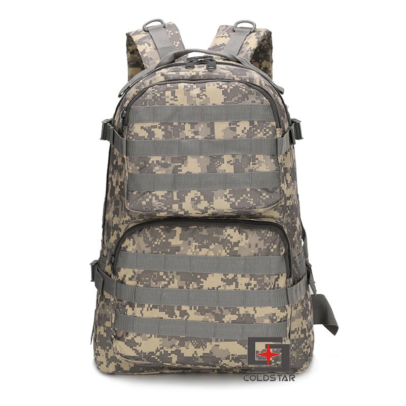 35L Unisex Military tactical back pack ourdoor vintage canvas backpack camouflage camping Hiking Travel Rucksack Bags