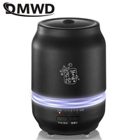 DMWD 11W Household Essential Oil Diffuser 0.2L Aroma 3 Color LED Lights Humidifier Waterless Auto shut off Mute For bedroom