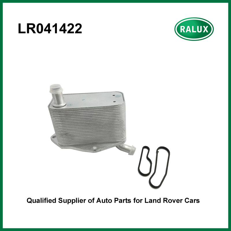 LR041422 high quality car oil cooler fit for Freelander 2 2006-auto oil cooler aftermarket engine parts with good retailer price brand new oil cooler cover for 4be1 4bc2 4bf1 npr ks22 8 94438 371 0 oil cooler covers