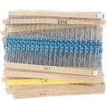 MCIGICM 600 Pcs 1/4W 1% 20PCS 30Values Metal Film Resistor Assortment Kit Set pack electronic diy kit resistor