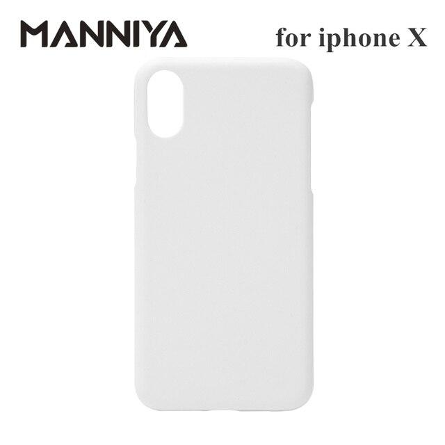 Manniya 3D Sublimatie Lege Witte Telefoon Gevallen Voor Iphone X Xs Gratis Verzending! 100 Stks/partij