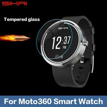 Für Motorola Moto 360 Smartwatch Nacodex Ultra Clear Displayschutz schutz vor Pelicula Protetora transparente film