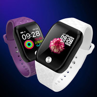 2019 New Waterproof Female Relogio Heart Rate Smart Watch Woman Android Men Watch Smart Reminder Step Sports Watches Bluetooth