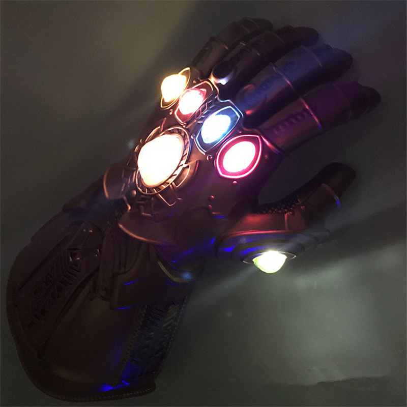 Boys Costume Accessories Kids Boys Girls Avengers 4 Endgame Thanos Gauntlet Plastic Gloves Party Holiday Halloween Cosplay Props Toys For Children High Safety Costumes & Accessories