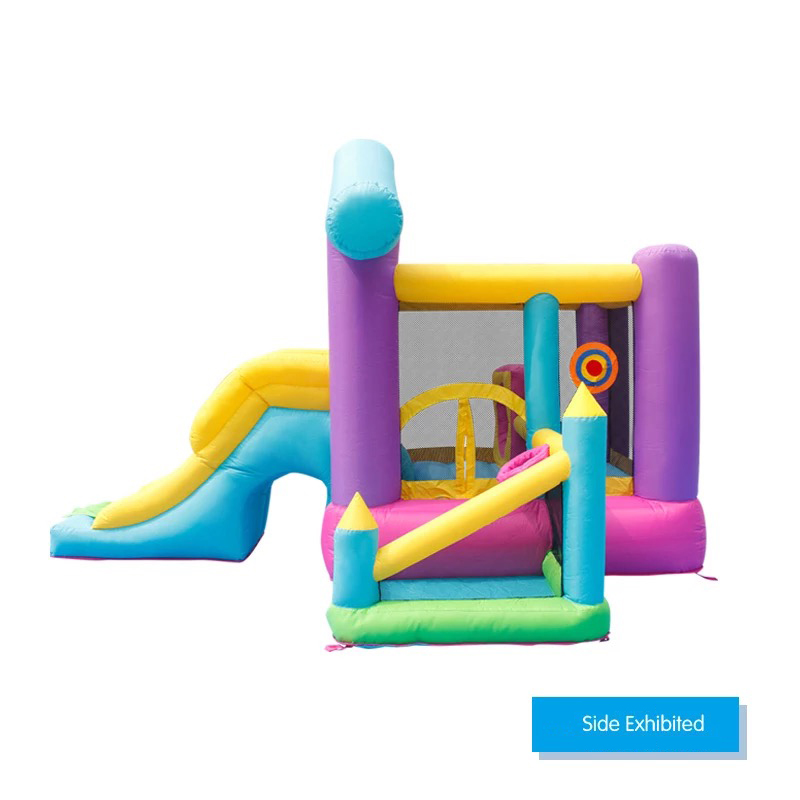HTB1G9BGPpXXXXXgaXXXq6xXFXXXr - Mr. Fun Inflatable Bouncy House Big Slide For Kids With Ball Pool, Target, & Obstacle Course With Blower