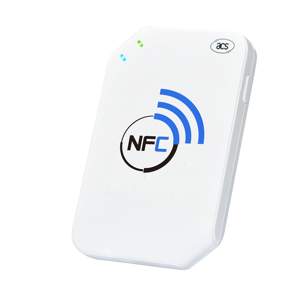 ACR1255U-J1 Secure Bluetooth 13.56 MHz Contactless NFC Reader Writer
