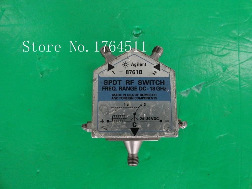 [BELLA] Agilent 8761A DC-18GHz 12-15V SPDT SMA Connector
