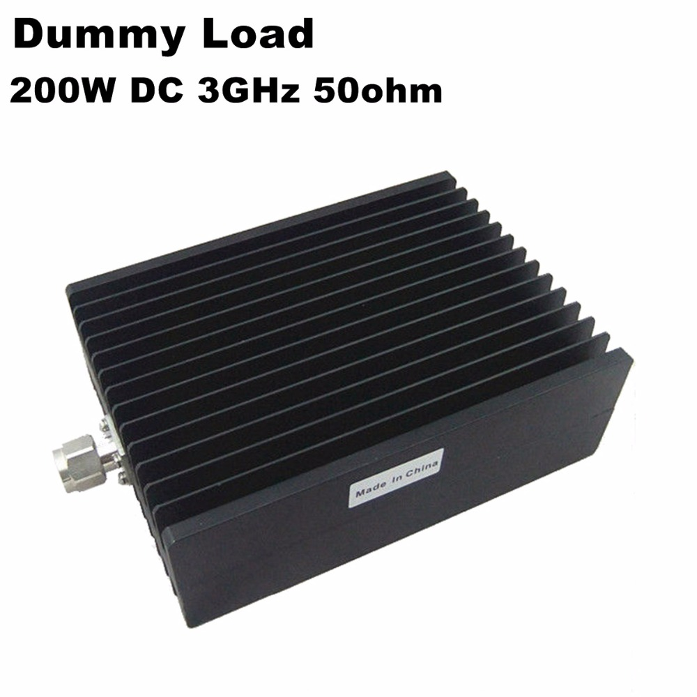200 W charge factice 50 ohms 200 watts N-type Mâle Coaxial Charge N Femelle