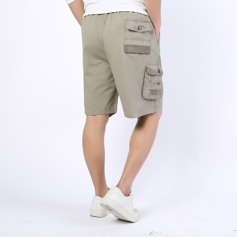 2018 Summer Brand New Army Men Loose Work Casual Short Pants Plus Military Cargo Shorts