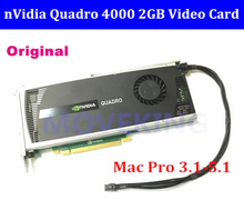High quality Quadro 4000 Q4000 2G DDR5 cards with DVI DP connector CUDA OpenCL for mac pro 2008-2012 sent by DHL/EMS цена 2017