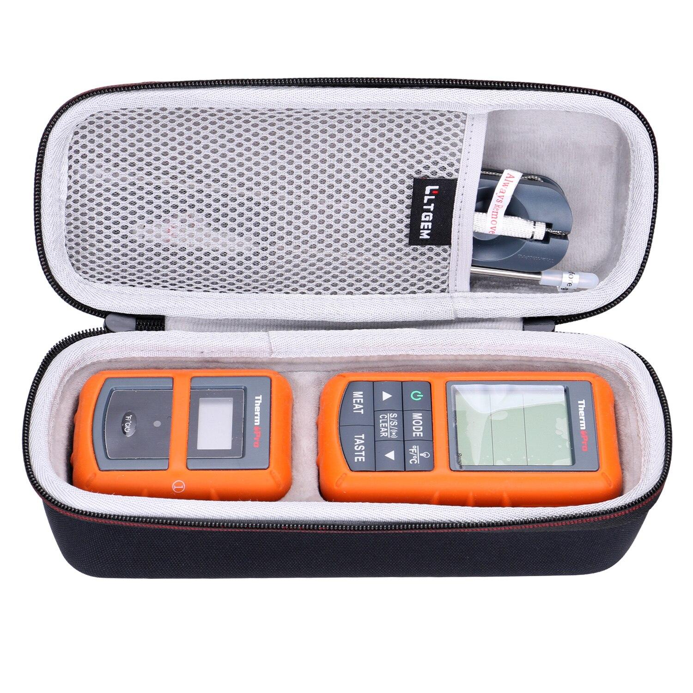 LTGEM EVA черный пылезащитный Жесткий Чехол для ThermoPro TP20/TP08/TP07