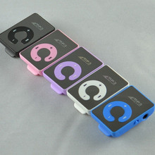 Hot Sell Christmas Gift Mini Mirror Clip Sport MP3 Music Player With Micro SD/TF Card Slot Free DHL OR EMS