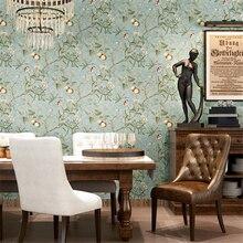 Américain pastorale papier peint rétro faire le vieux apple arbre papel de parede papier peint chambre salon fond papier peint