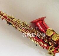 Musical Instrument SELMER Alto Saxophone Wind E Flat Blue Sax Multi Color OptionalRed
