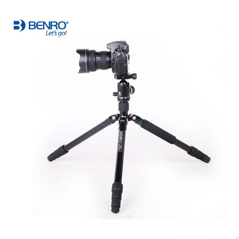 Benro A3282TV3 Tripod Aluminum Tripods Flexible Monopod For Camera V3 Ball Head Carrying Bag Max Loading 16kg DHL Free Shipping dhl gopro benro a550fhd2 urban elf kit aluminum tripod three dimensional head camera tripod