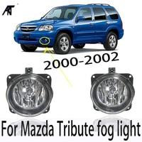 Fog lamp For Mazda Tribute fog light 2000 2002 Halogen fog lamp car assembly H10 42W OE 2M5Z 15200AB/2M5Z 15200A