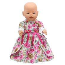 1PCS Free Shipping Doll Clothes Wear fit 43cm Baby Born zapf Children best Birthday Gift Christmas