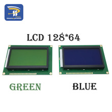 MÀN HÌNH LCD Bảng Vàng Xanh Màn Hình 12864 128X64 5V Xanh Dương Màn Hình Màn Hình ST7920 Module LCD Cho Arduino 100% mới Chính Hãng