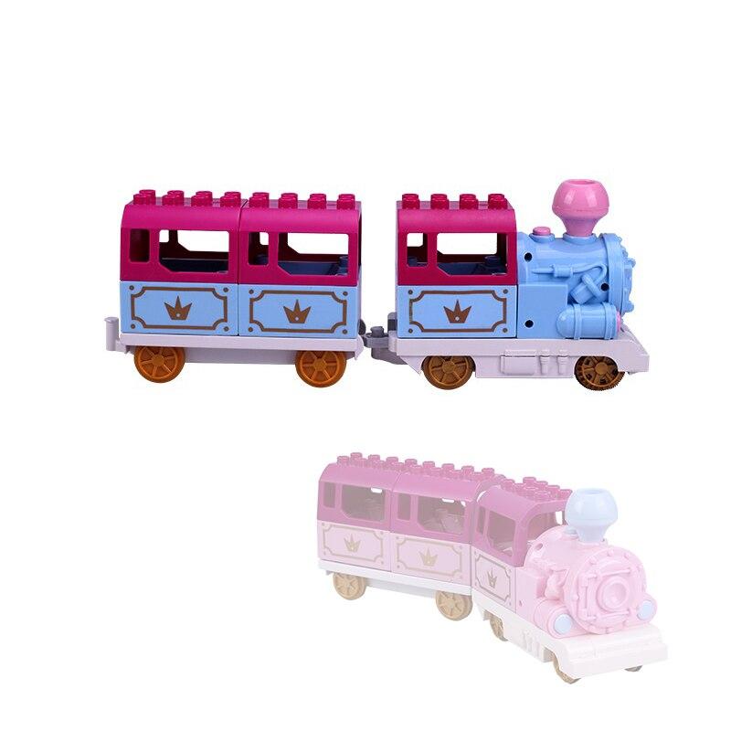 Blue train set