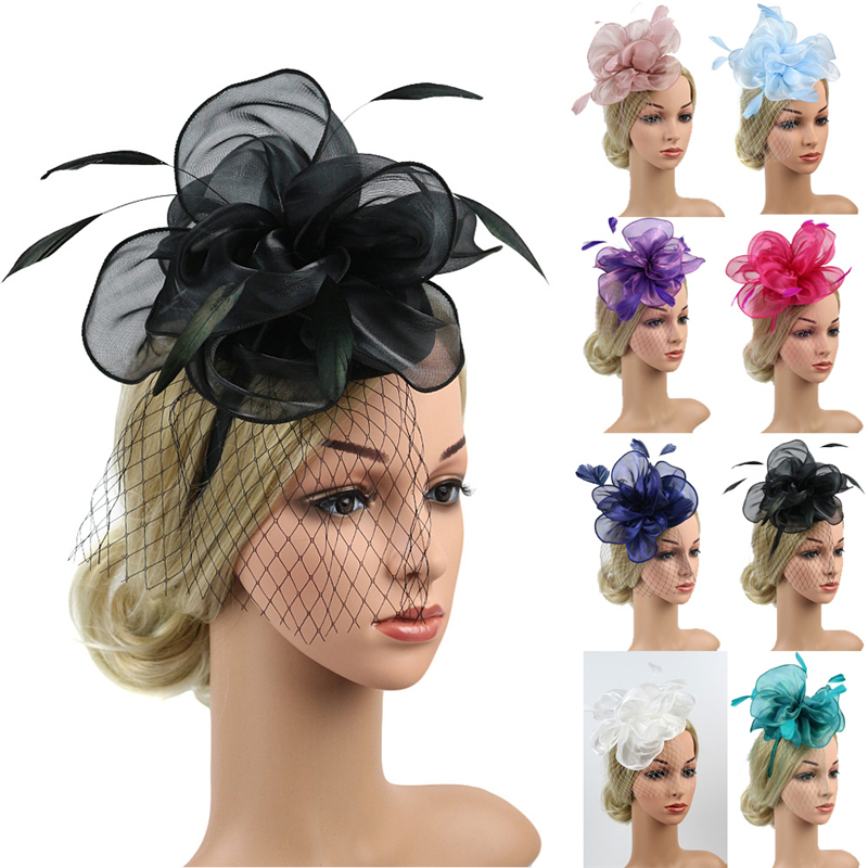 New Large Headband Aliceband Hat Fascinator Wedding Ladies Day Races Royal Ascot