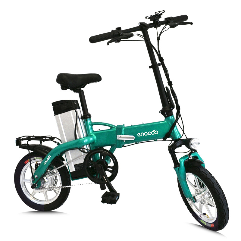 14inch electric bicycle mini fold e-bike 48V20AH lithium battery 250w high speed motor usb port and Mobile phone holder