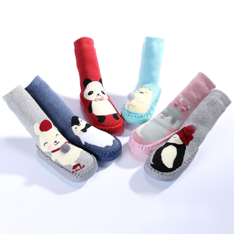 Baby Socks Toddler Indoor Shoes Newborn Sock Winter Thick Terry Cotton Baby Girl Sock Rubber Soles Infant Animal FunnyBaby Socks Toddler Indoor Shoes Newborn Sock Winter Thick Terry Cotton Baby Girl Sock Rubber Soles Infant Animal Funny