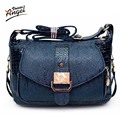 Angel Voices Women messenger bags leather handbag mid-age models shoulder bag crossbody mom handbags high quality bag TNT151