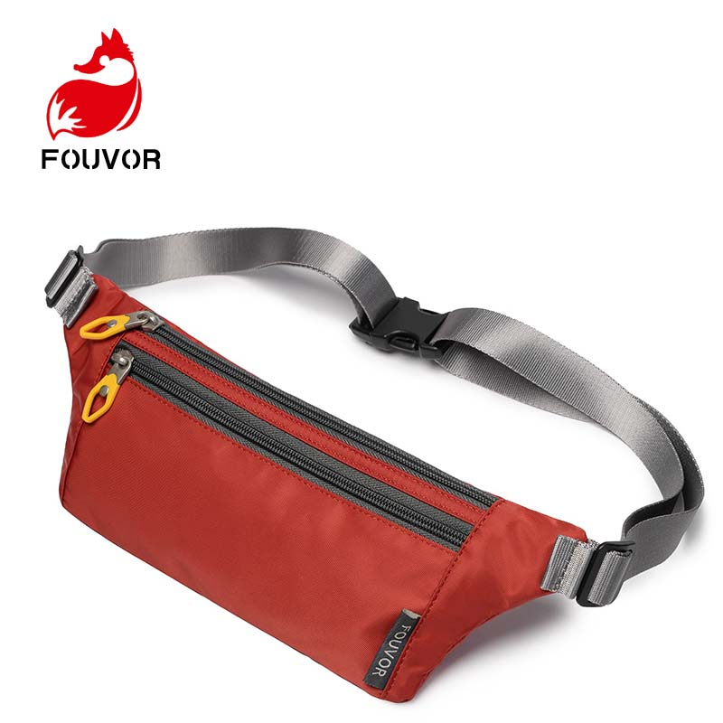 Fouvor Waist Bag Female Belt New Brand Fashion Waterproof Chest Phone Pouch Unisex Fanny Pack Ladies Waist Pack Belly Bags Purse