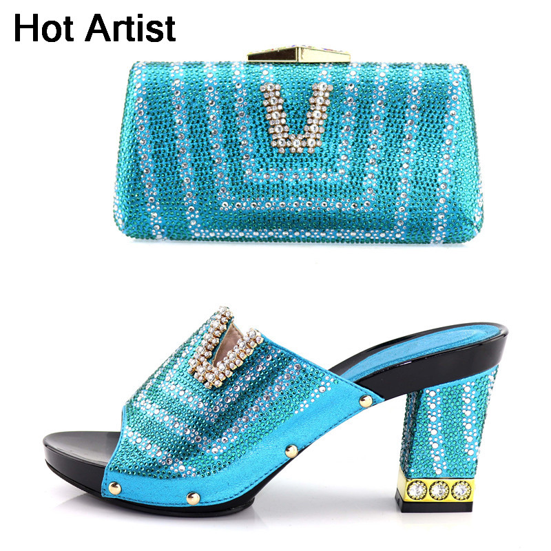 Hot Artist Nice Elegant Italian Matching Shoes And Bag Set African Style Ladies Shoes And Bag To Match For Wedding Dress YK-227Hot Artist Nice Elegant Italian Matching Shoes And Bag Set African Style Ladies Shoes And Bag To Match For Wedding Dress YK-227