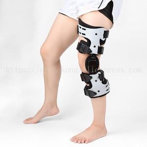 Image 4 - OA Knee Brace For Arthritis Ligament Medial Hinged Knee Support Osteoarthritis Knee Joint Pain Sports Unloading Left Right