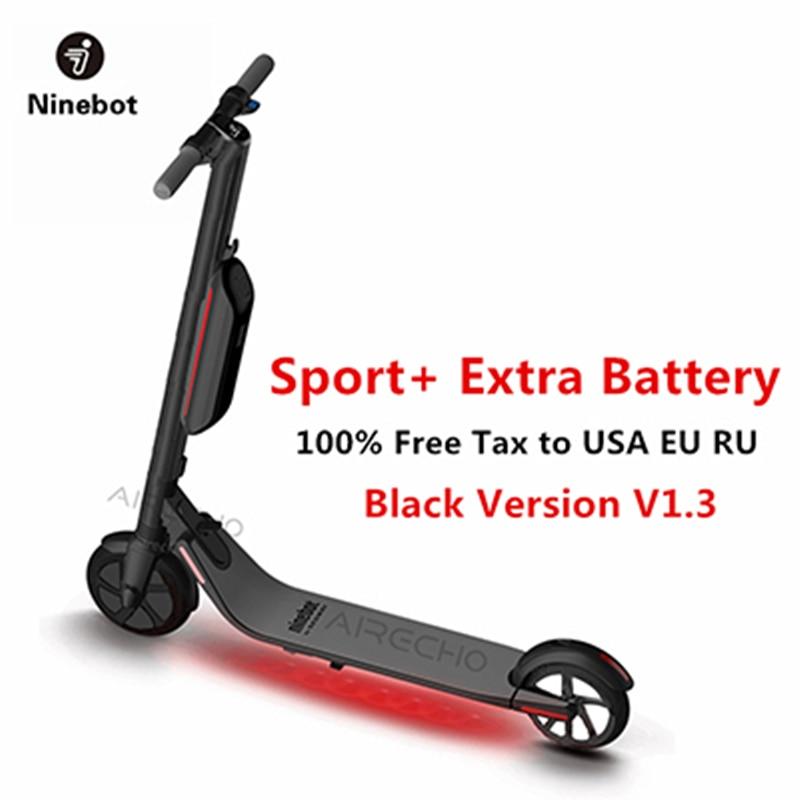 2019 Ninebot Segway KickScooter ES4/ES2 Smart scooter électrique pliable léger conseil hoverboard planche à roulettes hover bord