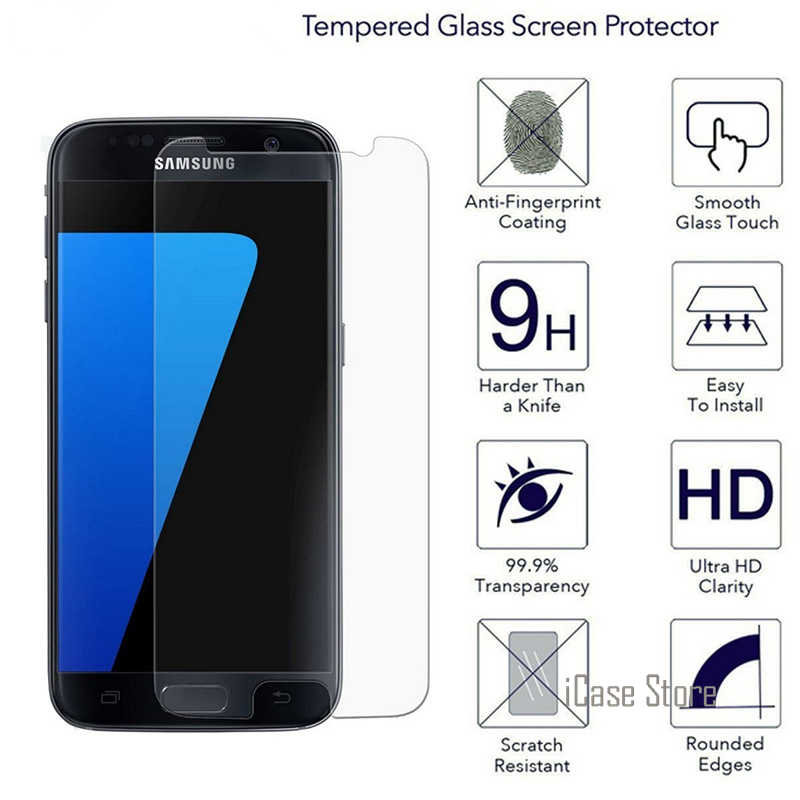 Tempered Glass Screen Protector For Samsung Galaxy S7 EDGE S6edge S6 S5 Neo S3 J5 2016 Grand Prime ACE 4 Neo Protective Film