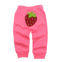 PP Pants 2019 Baby Fashion Model Babe Cartoon Animal Printing Trousers Kid Wear 0-24M 5pcs/lot