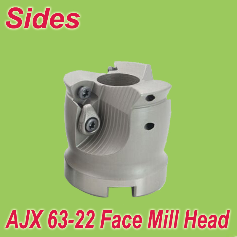 ФОТО AJX-63-22-4T 2.5'' Face Mill Head Cutter Shell Mill 63mm for Mitsubishi JDMW120420 Free Shipping