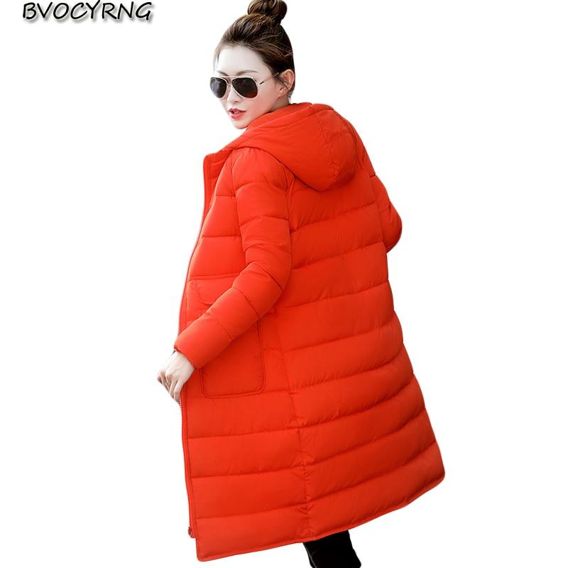 2017Now Women Winter Jackets Pockets Hooded Zippers Slim Down Cotton Jacket Women Winter Coat Top Warm Long Parkas Q769 цены онлайн