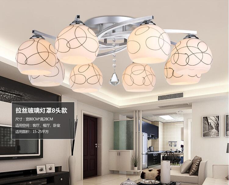 Здесь продается  85-265V E27  Modern  LED Ceiling Light  Indoor LED light Ceiling Lamp creative personality Living Room dining room balcony lamp  Свет и освещение
