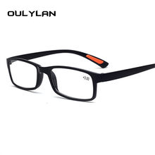 Oulylan TR90 Óculos de Leitura Das Mulheres Dos Homens Ultraleves Óculos  Femininos Masculinos Óculos de Presbiopia Dioptria + 1. dbb0d1409f
