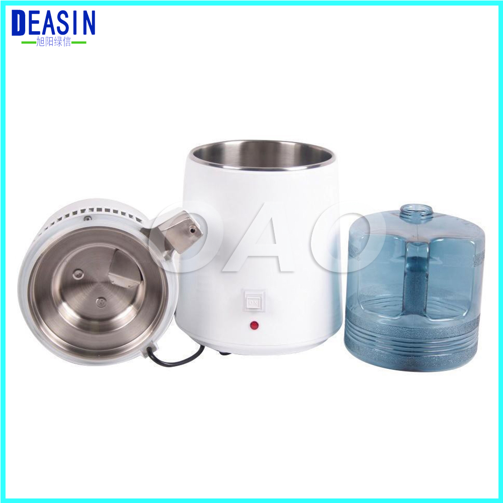2018 Hot Sale 4L Plastic Bottle Water Tank For Portable Electric Pure Dental Water Distiller Distilled Water Machine