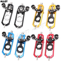 CNC Chain Adjusters Tensioners With Spool Fit For Yamaha YZF R1 2015 2016 2017 2018