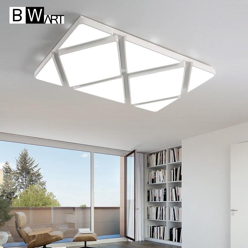 BWART Modern Large LED Ceiling Light Smart Home Big Lamp Shade High Quality For Living Room